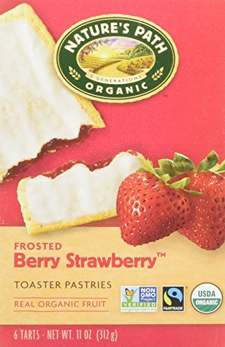 (Nature's Path Organic Toaster Pastries Strawberry Frosted - 11 oz)