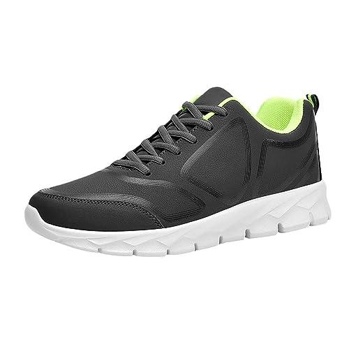 BBestseller Zapatillas Running Hombre,Casual Ligero Transpirable Calzado Deportivo Baloncesto Zapatos de Cordones para Hombre: Amazon.es: Zapatos y ...