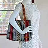 Bohemian / Handbags / Purses / Tote bags / Anniversary Gifts / Christmas Gift Ideas / Red / Stripe