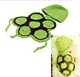 Meelino Newborn Photography Props Outfit Crochet Knitted Infant Baby accessories
