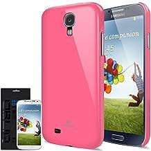 [Candy Pink] JL316 Samsung Galaxy S4 Case - Premium Slim Fit Hard Case - Rogers, Telus, Bell, International, and Unlocked - Galaxy S 4 SIV S IV GS4 i9500 2013 Model