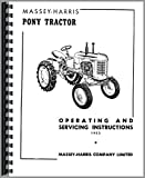 Massey Harris Pony Tractor Operators Manual