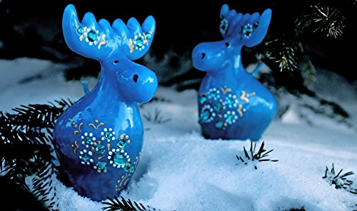 Candles moose. Figures. small candles, bonbonniere. gifts. Souvenirs, Christmas deer, Christmas gift, little gift, funny moose, animals, small candle,Christmas candle bluue