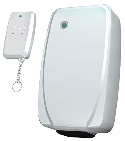 Westinghouse 28067 Indoor Wireless Remote Control with Key Chain  Transmitter, White
