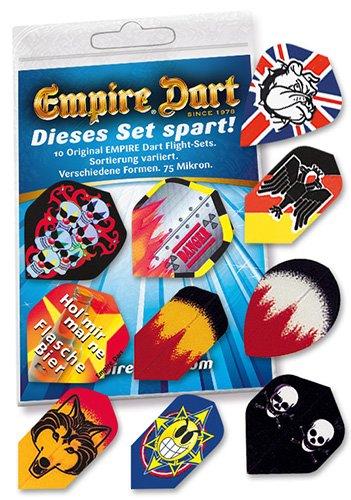 Flight-Sets EMPIRE® offerta mista 10 Set Empire Dart