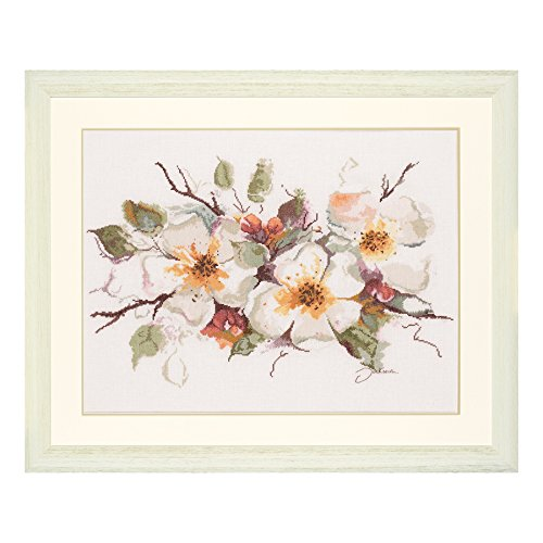 Lanarte Vervaco PN-0008051 | Apple Blossom Picture Counted Cross Stitch Kit | 39 x 49cm