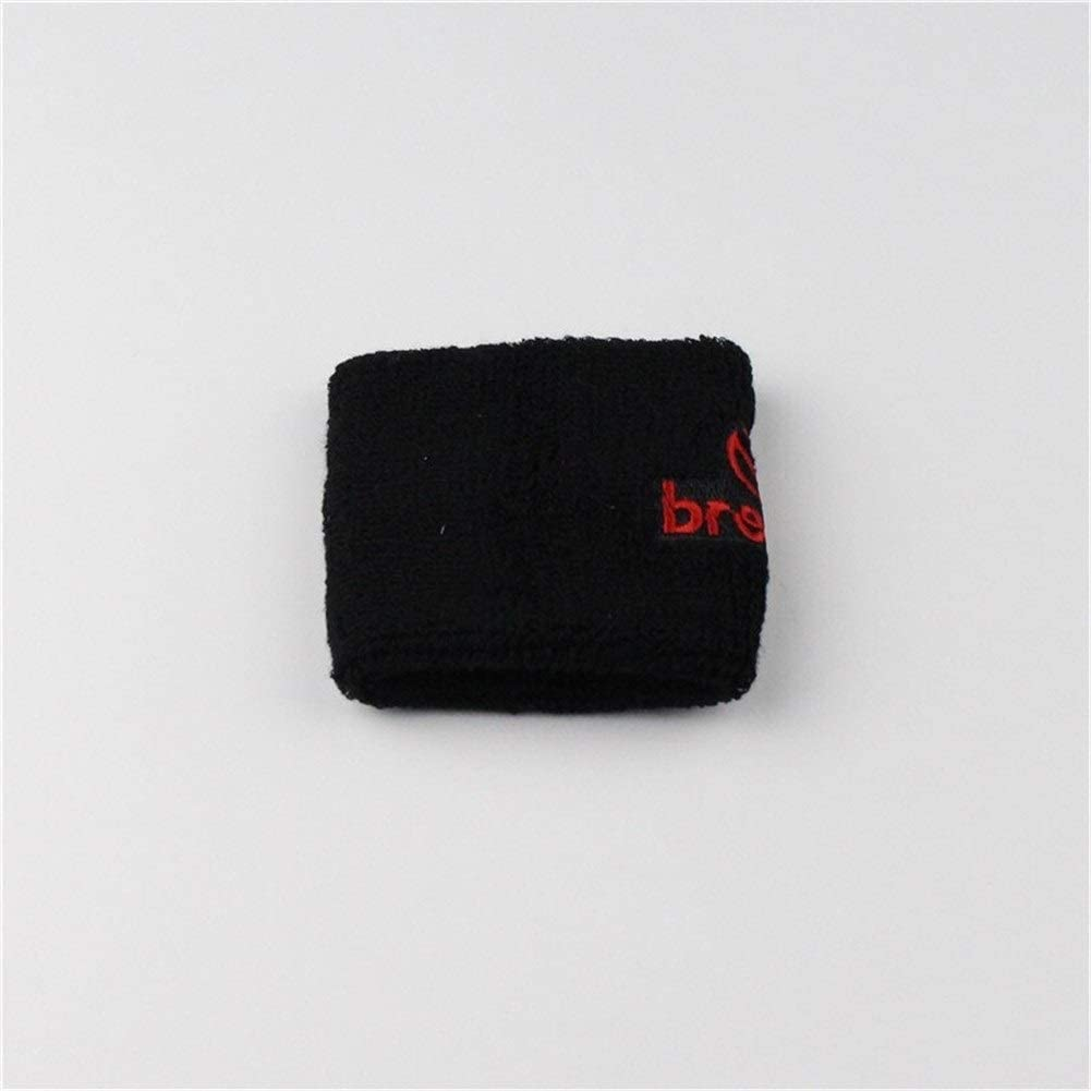 Color : Black Negro Azul Rojo dep/ósito del Freno de Embrague del Tanque de Aceite Tapa del calcet/ín