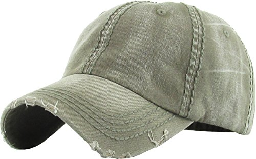 essed Washed Dad Hat Cotton Polo Style Caps (Distressed Womens Cap)