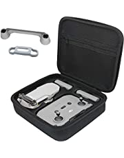 Carrying Case for DJI Mini 2,Hard Protective Case Compatible with DJI Mini 2 Drone, Remote Comtroller, Battery and Other Accessories with Propeller Protectors and Control Stick Cove