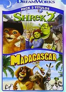 Pack Madagascar + Shrek 2 [DVD]: Amazon.es: Eric Darnell