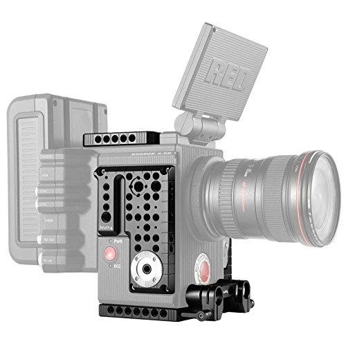 SmallRig Accessory Bundle for RED Raven/Scarlet-W/Epic-W/Weapon Camera with Top Plate, Side Plate, Base Plate - (4x4 Matte Box Basic)