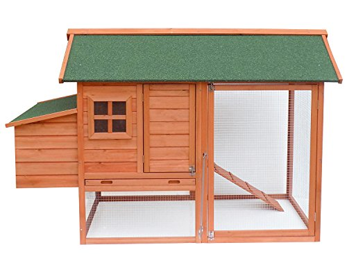 Merax-Wooden-Pet-House-Rabbit-Bunny-Wood-Hutch-House-Dog-House-Chicken-Coops-Chicken-Cages-Rabbit-Cage