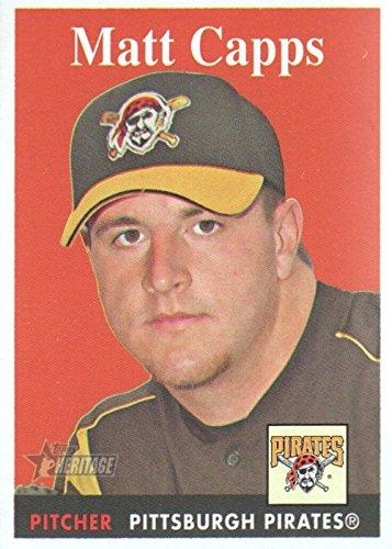 2007 Topps Heritage Baseball #369 Matt Capps Pittsburgh Pirates