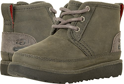 UGG Kids T Neumel II WP Pull-on Boot, Charcoal, 6 M US Toddler]()