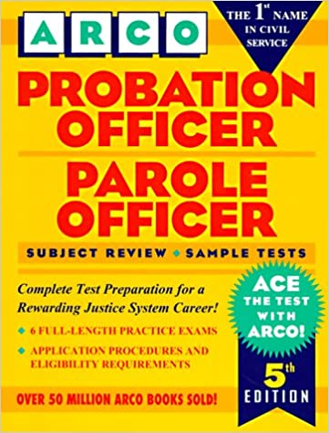 Probation Officer Parole Officer 5th Ed Hy Hammer Arco