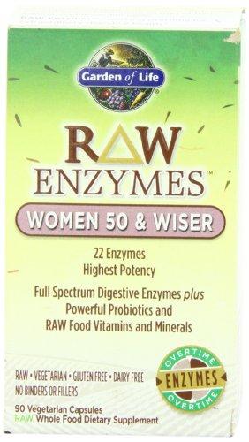 Garden of Life RAW Enzymes? Les femmes de 50 et plus sage, 90 capsules