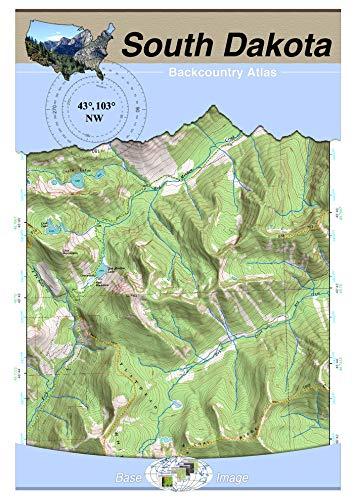 43°103° NW - Mount Rushmore, South Dakota Backcountry Atlas (Topo)