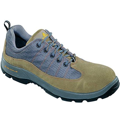 Costras Poliuretano Beige De De Nylon 44 Cuero Zapatos De Zapatos 2d De Delta Más De Color S1p Gris Tamaño 0gzqII