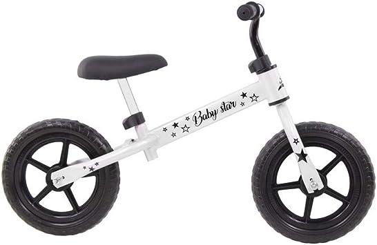 Grupo K-2 Riscko - Bicicleta sin Pedales con sillín Y Manillar Regulables | Ultraligera | Correpasillos Minibike | Bicicleta para Niños de 2 a 5 años Baby Star Blanca: Amazon.es: Deportes y aire libre
