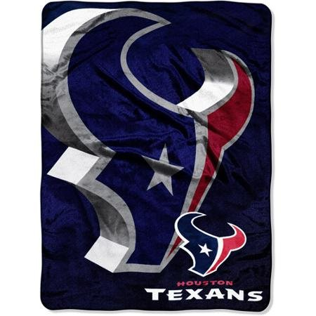 80 Inch Micro Raschel Blanket (NFL Houston Texans 60