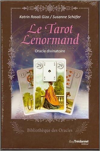 Livre gratuits en ligne Le tarot Lenormand : Oracle divinatoire epub pdf