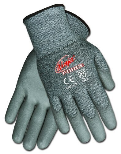 (Memphis CN9677M Ultra Tech White Dyneema Glove, Medium by Safety Works)
