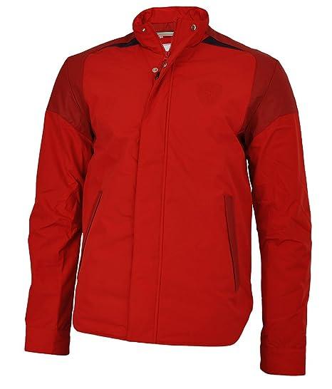ae5780977705a Puma Scuderia Ferrari Padded Jacket Mens Winter Jacket Red, Sizes:XS ...
