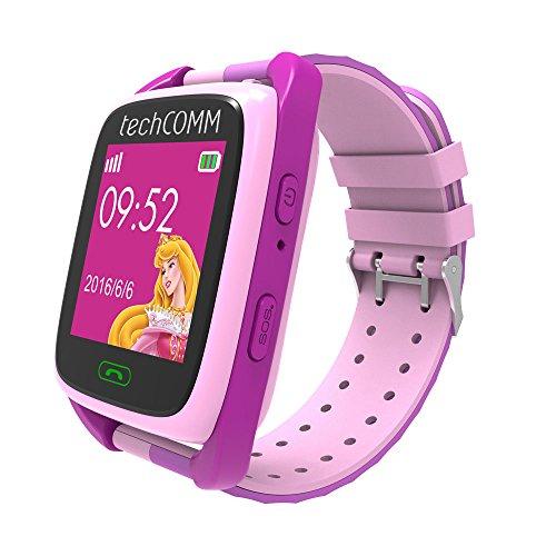 TechComm TD-09 Kids Smart Watch GPS and Fitness Tracker, Call & Text