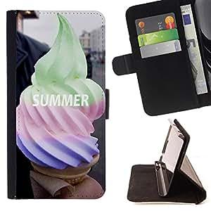 Dragon Case - FOR Sony Xperia Z1 Compact D5503 - a smile is an inexpensive way - Caja de la carpeta del caso en folio de cuero del tirš®n de la cubierta protectora Shell