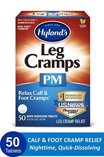 Leg Cramps Tablets by Hyland