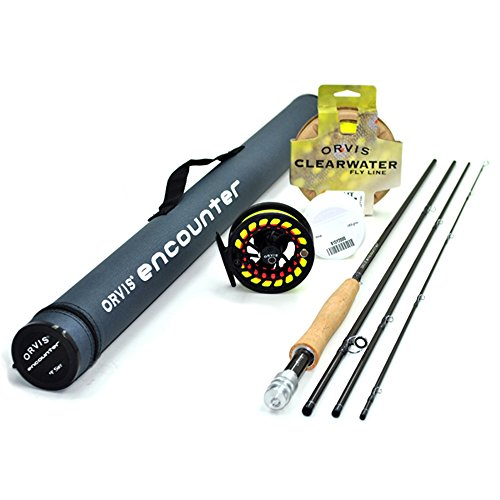 Orvis Encounter 5-Weight 9' Fly Rod Outfit (5wt, 9'0', 4pc)