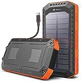 SUNDUO Solar Charger 20000mAh, Solar Power Bank