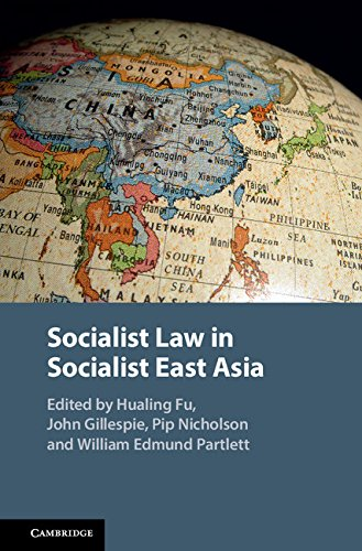 Socialist Law in Socialist East Asia by Cambridge University Press