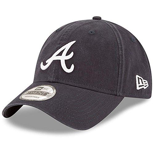 New Era Replica Core Classic 9TWENTY Adjustable Hat (Atlanta Braves - Adjustable Hat Road