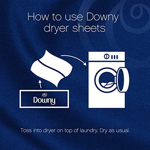 Large Product Image of Downy April Fresh Fabric Softener Dryer Sheets, 240 count