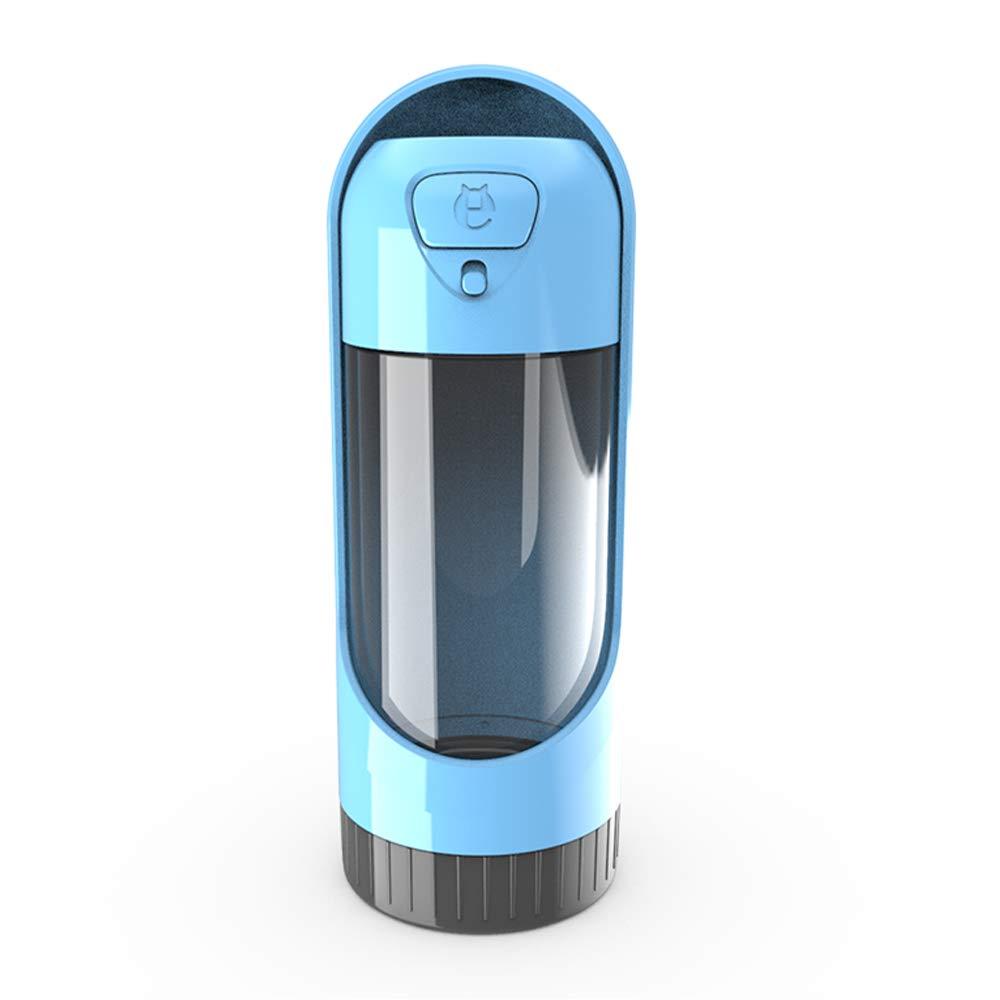 OKAWA DACH Dog Water Bottle Dispenser Portable Bottle Pet Bowl Doggy Travel Drinking Cup (Sky Blue) by OKAWA DACH