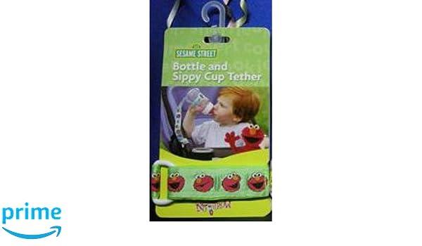 Pequeño Creaciones Correa para la botella de agua, Motif: Sesame Street: Amazon.es: Bebé