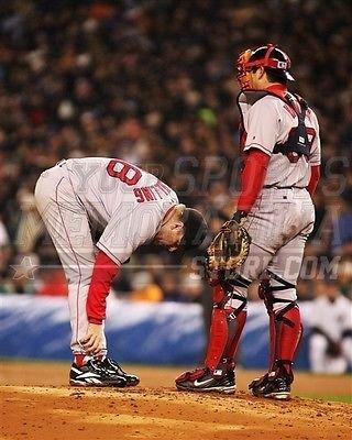 Curt Schilling Boston Red Sox bloody sock 8x10 11x14 16x20 photo 034 - Size 8x10