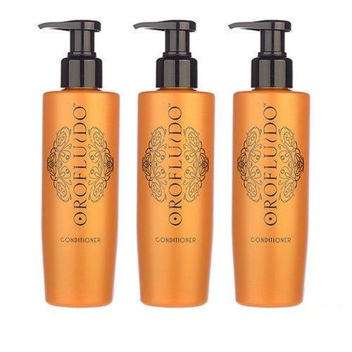 3 PCS Orofluido Conditioner 200ml X3= 600ml Hair Conditioner Organic Oil by Orofluido