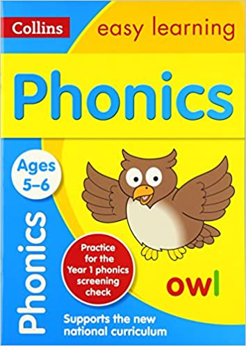 Phonics Ages 5-6: New Edition (Collins Easy Learning KS1)