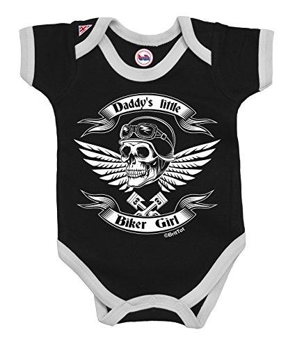 Girls Baby Grow Daddy`s Little Biker Girl by BritTot 0/3