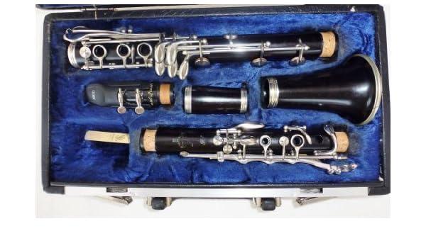 Para bufé de RC clarinete de madera con suela extensible sistema de Boehm (llave extra): Amazon.es: Instrumentos musicales