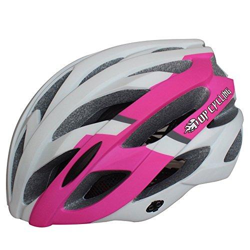 260g Poids ultra léger - casque de vélo, casque de vélo de vélo de polycarbonate extérieur avec 28 ventilations de refroidissement