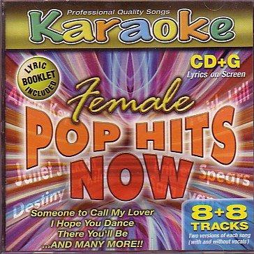 Karaoke: Female Pop Hits NOW Cd+g