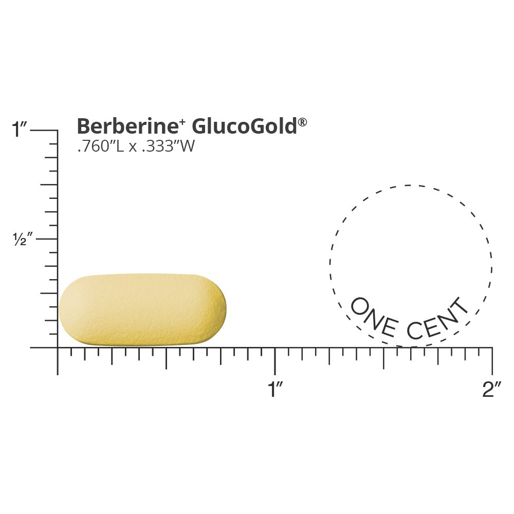 Dr. Whitaker's Berberine+ GlucoGold Supplement for Clinically Validated Blood Sugar and Cholesterol Support with Berberine, Crominex 3+ Chromium, and Cinnamon (90 Tablets) by Dr. Whitaker (Image #3)