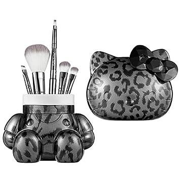 95b083e35 Amazon.com : Hello Kitty 5-piece Brush Set ~ Leopard : Makeup Brush Sets :  Beauty