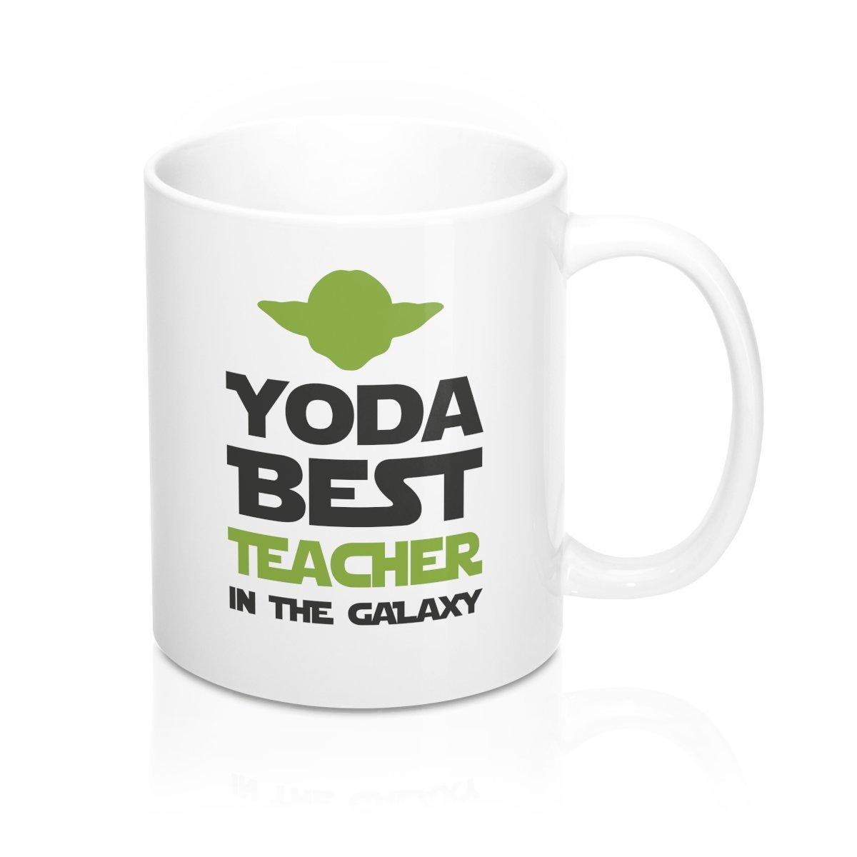 Amazon Yoda Best Teacher In The Galaxy Coffee Mug Funny Gifts
