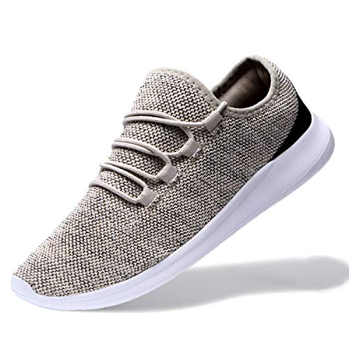 4d229a8f76bfd7 Alibress Men's Lightweight Breathable Mesh Casual Walking Athletic Sneakers  Shoes for Running Sport Gym