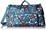 Vera Bradley Lighten Up Ultimate Gym Bag, Polyester, Superbloom Sketch
