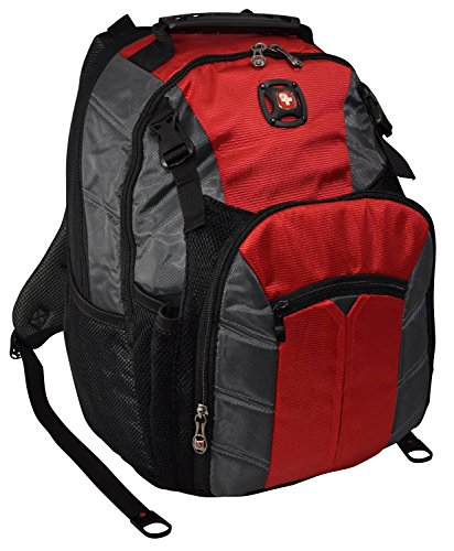 SwissGear The SHERPA Laptop Notebook Computer Backpack (Red)